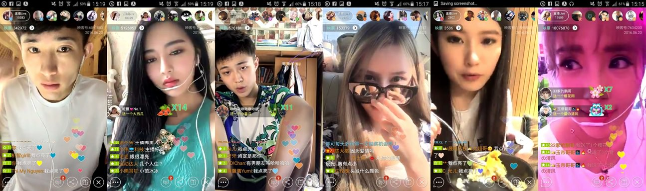 Hot trend in China: Live-streaming apps turn Nobodies into Internet Celebrities and offer unique money-making opportunities.