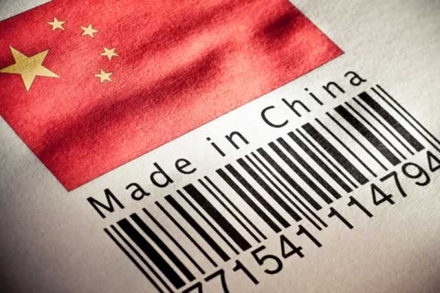 The « Made in China » takes revenge